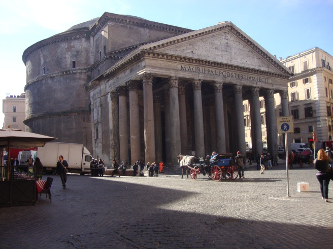 The Pantheon! First example of a dome